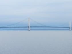 Mackinac Bridge - Ferry