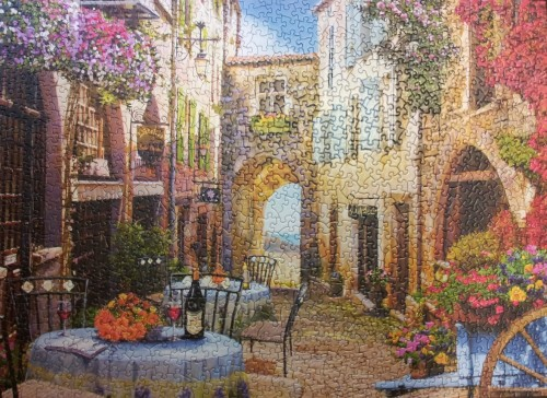 French Village - 1,000 Piece Cobble Hill Puzzle