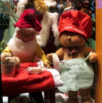 Santa's Official Cannoli Roller