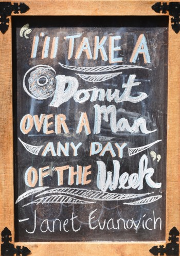Holtman's Donuts Evanovich Quote