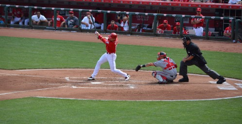 Joey Votto Home Run  - Nationals vs. Reds - 5-30-15