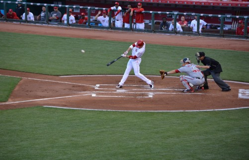 Joey Votto - Home Run - Washington Nationals vs. Cincinnati Reds - 5-29-15