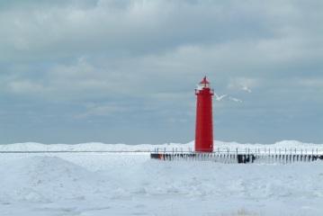 Lake Michigan Lighthouse 003